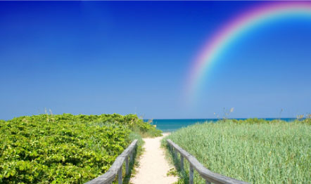 Radiant Paths Holistic Care Rainbow Picture